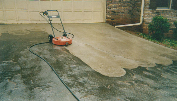 Professional cleaning services j sons outdoor for Cleaning concrete paths